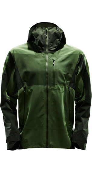 The North Face M's Summit Series L5 Shell Jacket TNF Black/Vaporous Green Jacquard